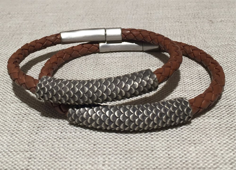 Image of Dragon Texture Bracelet