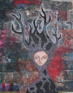 Image of Creative heART Challenge: The Empress Painting