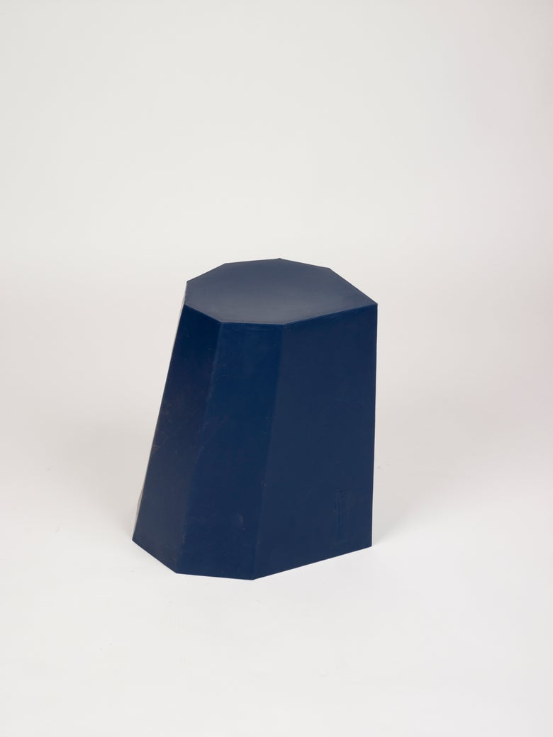 Image of Arnold Circus Stool Dark Blue