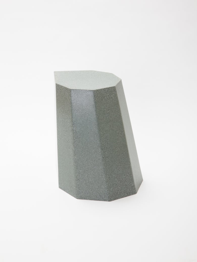 Image of Arnold Circus Stool - Grey Marble