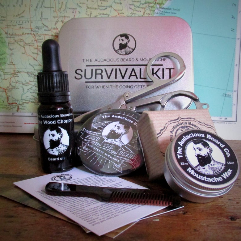 Image of The Audacious Beard and Moustache Survival kit