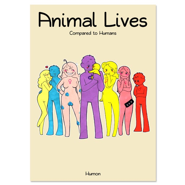 Image of Animal Lives Book