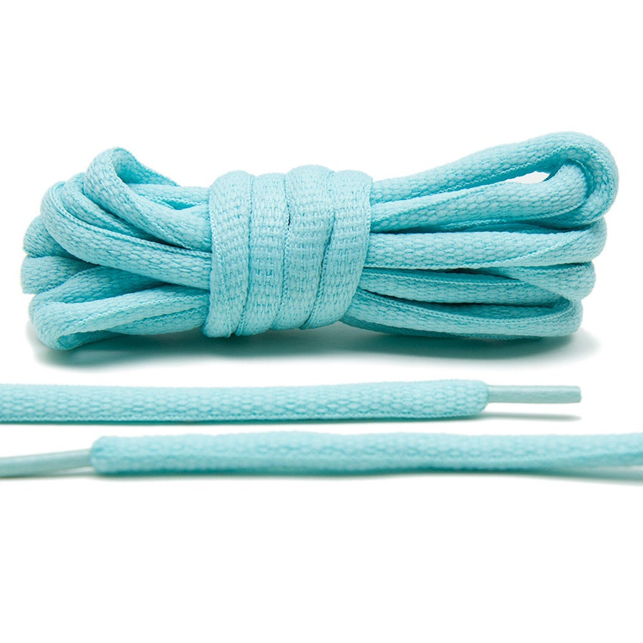 """Image of Exclusive """"Tiffany Mint"""" Oval Laces"""