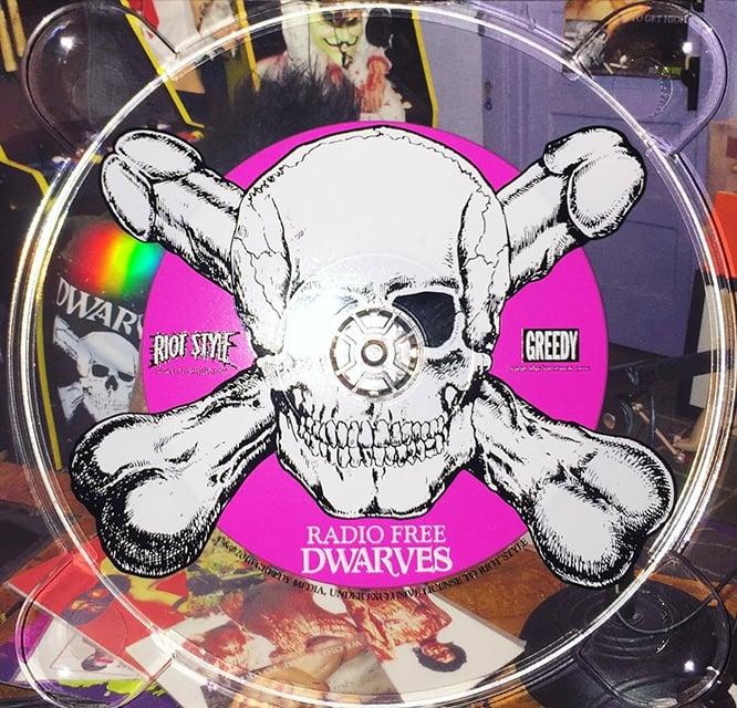 Image of The Dwarves - Radio Free Dwarves CD Digipak (LTD. Edition)