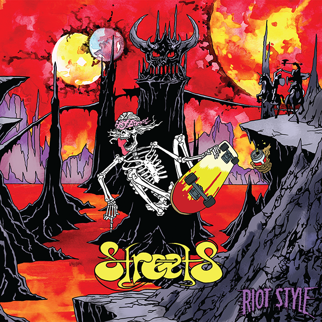 Image of S.T.R.E.E.T.S. - Invaders From Gnars (CD Digipak)
