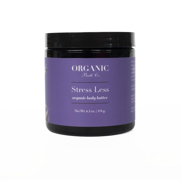 Image of Organic Body Butter - Stress Less   Drenched