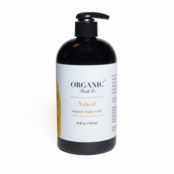 Image of Organic Bath Co. Body Wash | Naked or Stress Less