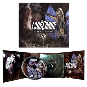 Image of The LoveCrave - The Angel And The Rain - CD/digipak/limited edition - ONLY 10 Euros!!!