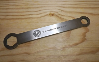 Image of Ti Parts Workshop Titanium Wrench
