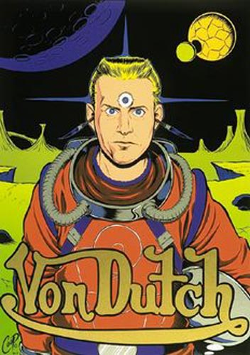 "Image of COOP ""The Dutchman"" silkscreen print"