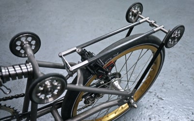 Image of Ti Parts Workshop Titanium Carbon Rear Rack