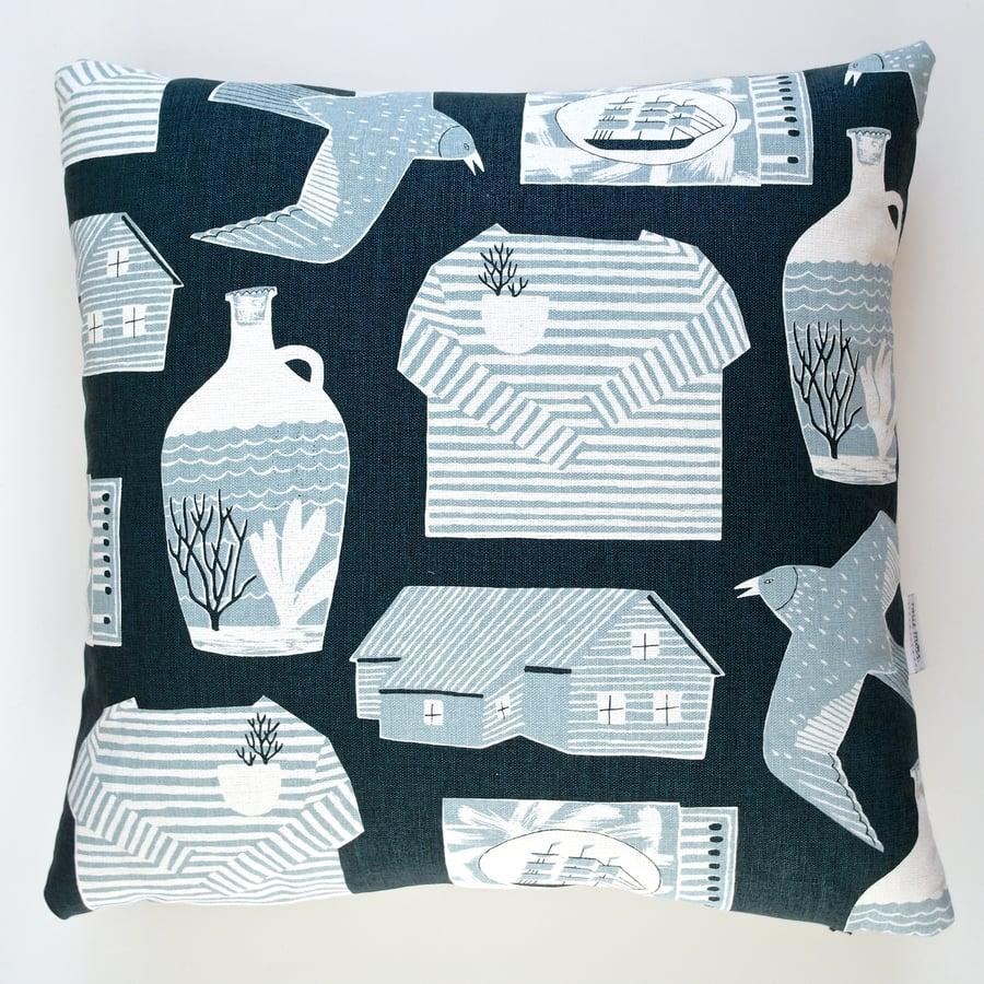 Image of 'Nautical Objects' Cushion