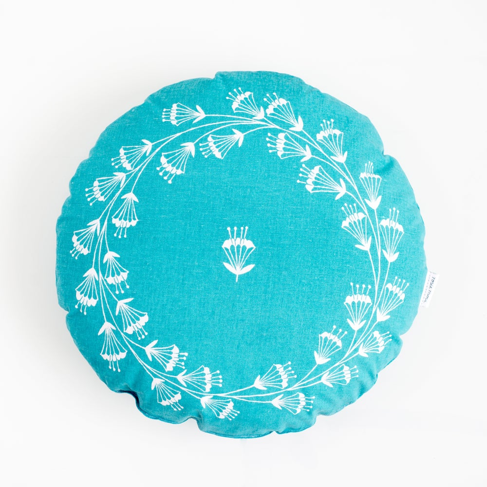 Image of 'Crown of Flowers' Cushion