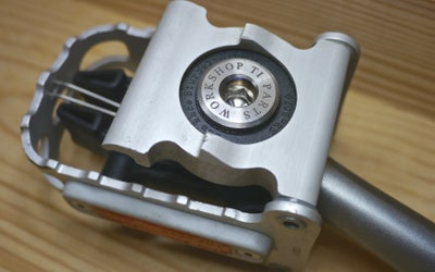Image of Ti Parts Workshop Titanium Pedal Bolt