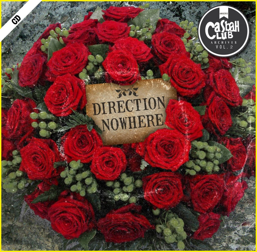 """CASBAH CLUB """"Direction Nowhere"""" CD"""