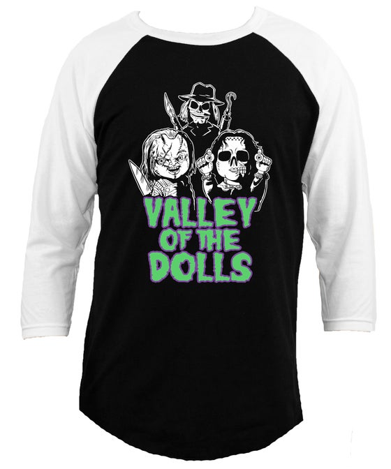 Image of VALLEY OF THE DOLLS KILLER DOLL SHIRT
