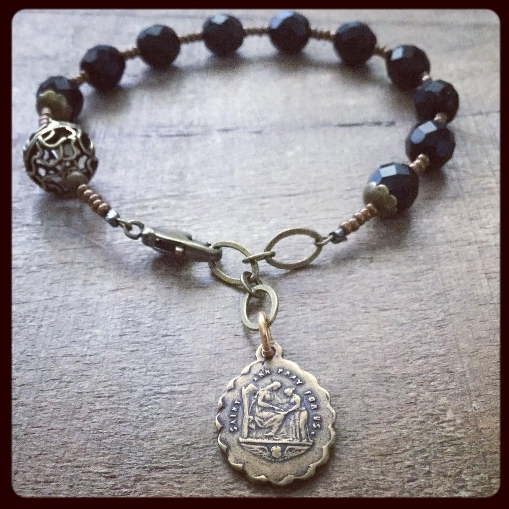 Image of ST. ANNE Chaplet Bracelet