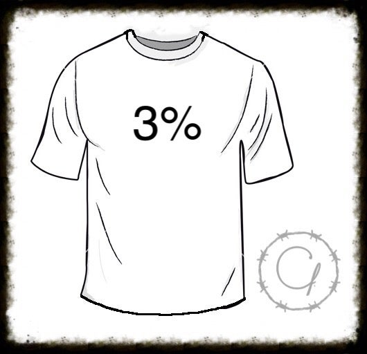 Image of 3% T-Shirt
