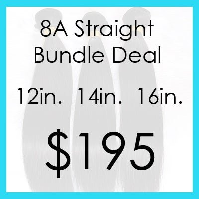 Image of Indian straight bundle $195.00