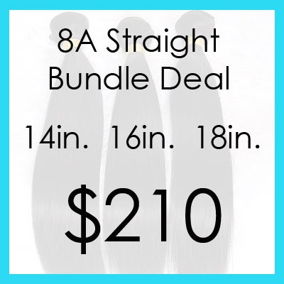 Image of Indian straight bundle $210.00