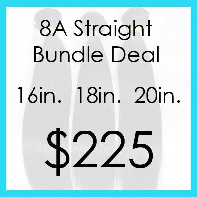 Image of Indian straight bundle $225.00