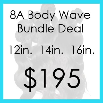 Image of Indian bodywave bundle $195.00