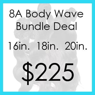 Image of Indian bodywave bundle $225.00