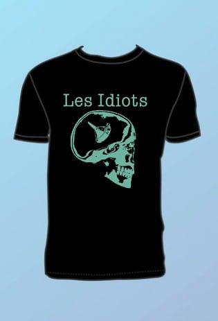 """Image of T-SHIRT """"LOGO"""" LES IDIOTS"""