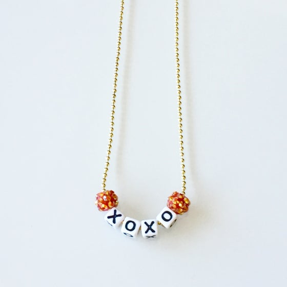 Image of KIDS : XOXO Necklace