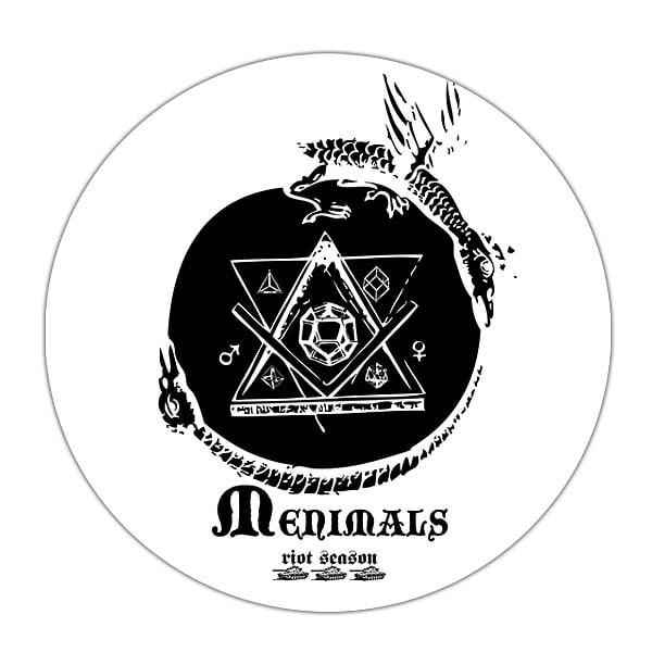 MENIMALS 'Menimals' Promo CD-R