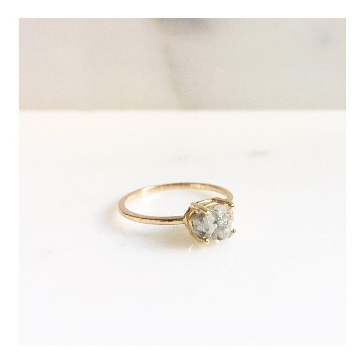 Image of RAW DIAMOND RING