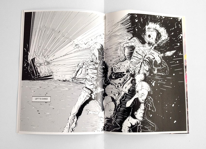 Image of Robot Head Issue 2 Signed copy