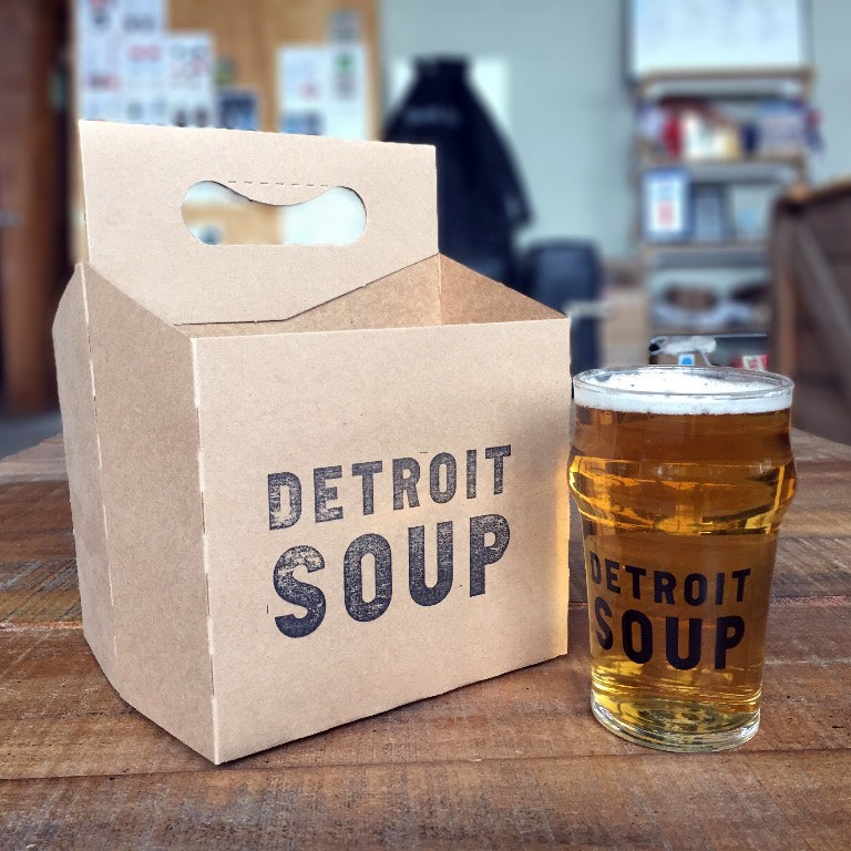 Image of Detroit SOUP Glass