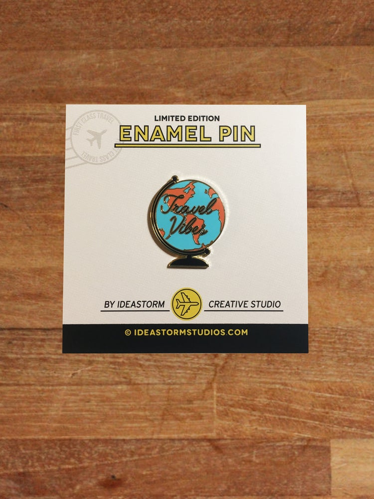 Image of Travel Vibes Pin
