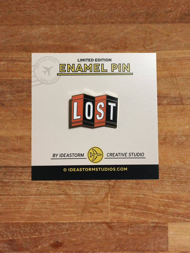 Image of Lost Map Pin