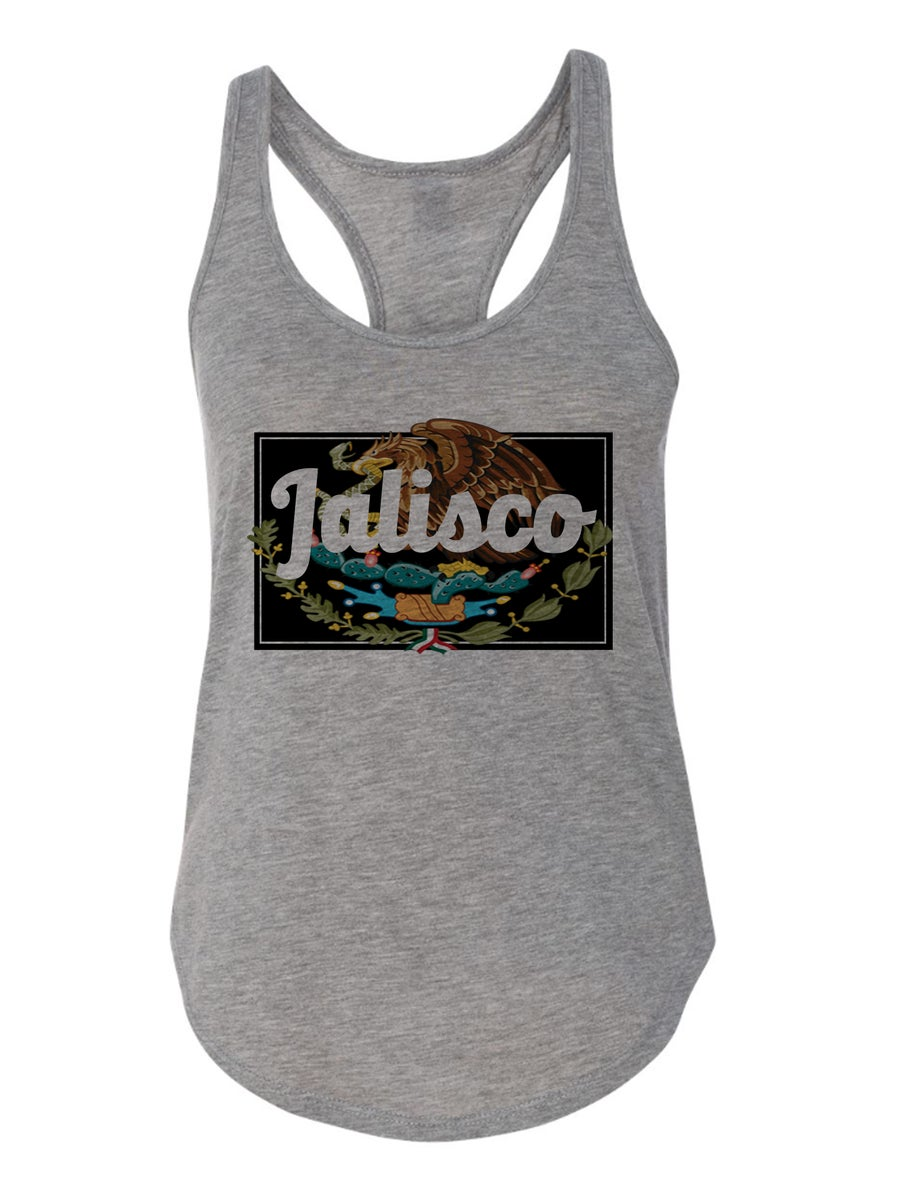 "Image of Heather Grey Made in ""PUEBLO/RANCHO"" - Womens"