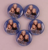 "Image of 5 - 1"" Nirvana Hanson buttons, magnets, flatbacks, or keychains."