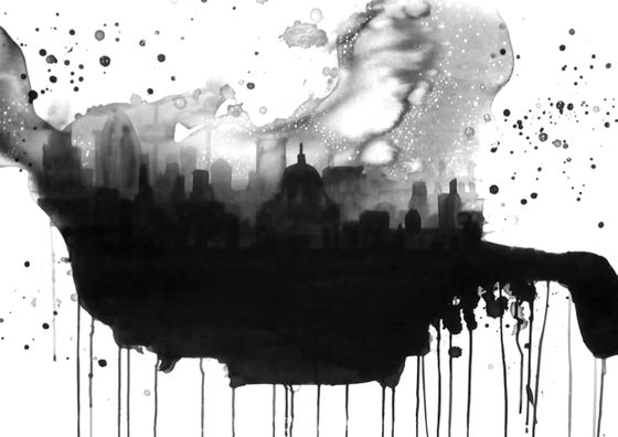 Image of 'Above London' by Rebecca Hunter