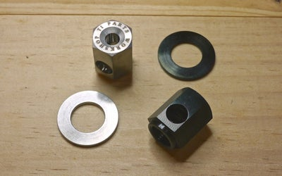 Image of Ti Parts Workshop Chain Tensioner Titanium Nut