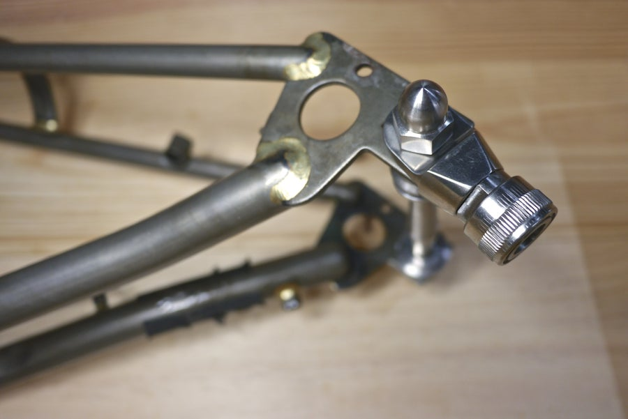 Image of Ti Parts Workshop Titanium MKS Pedal Holder