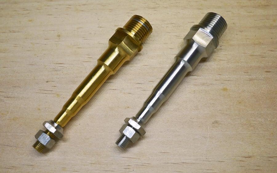 Image of Ti Parts Workshop Right Pedal Titanium Axle