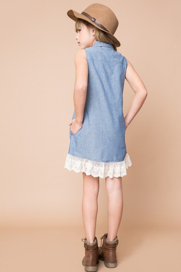 Image of Denim and Lace