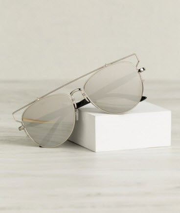 Image of Reflection Sunglasses (Silver)