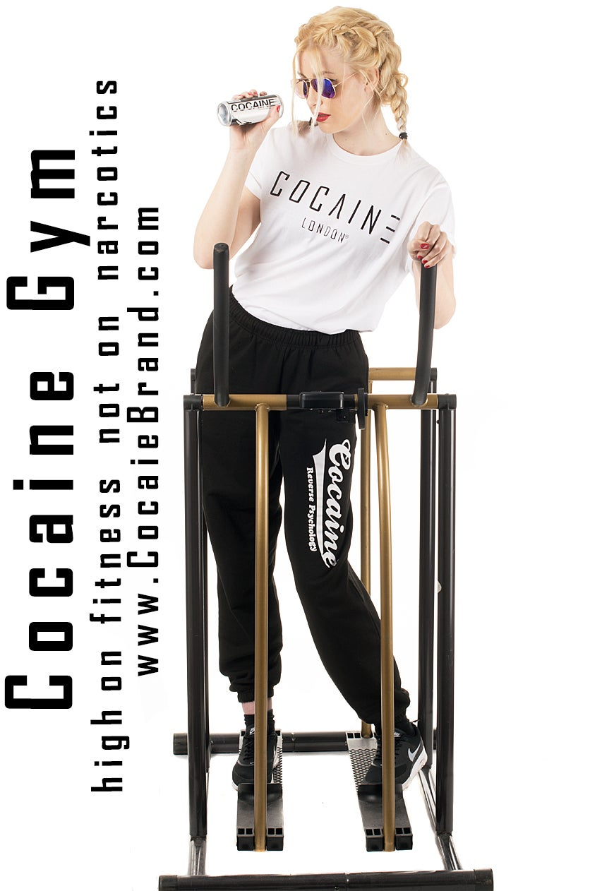 Cocaine Clothing Official Fitness Designer Joggers