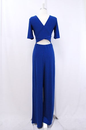 Image of Royal Blue Jumpsuit