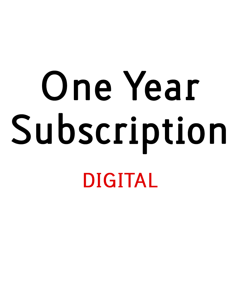 Image of 1 Year Digital Subscription