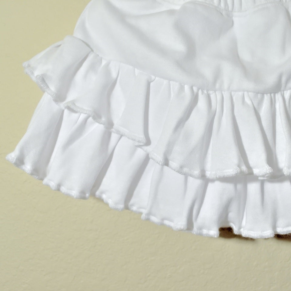 Image of Ruffle Skirt/Shorts