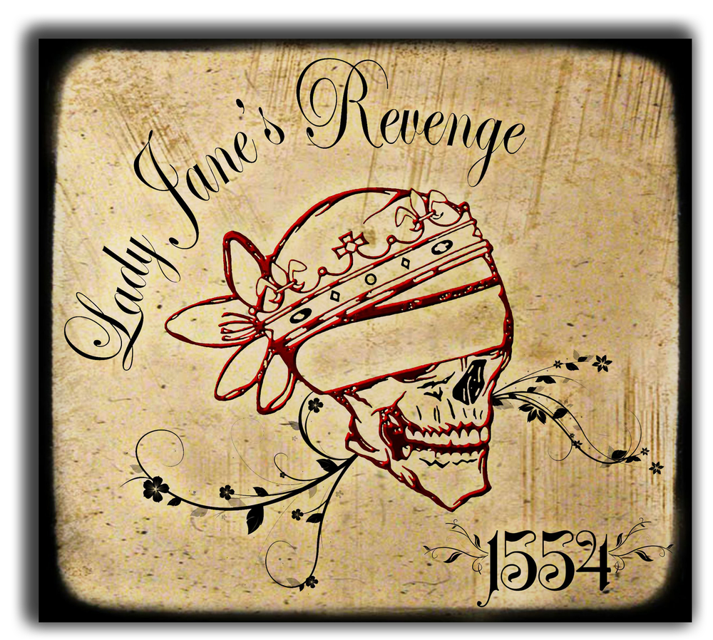 Image of Lady Jane's Revenge - Debut EP 1554 (Physical Copy)