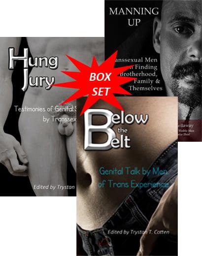 Image of BOX SET MANNING UP - HUNG JURY - BELOW THE BELT