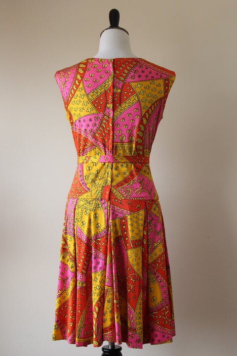 Image of SALE Paisley Fields Dress (Orig $75)